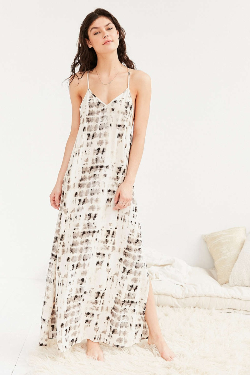 Out From Under Tie-Dyed Maxi Slip Dress