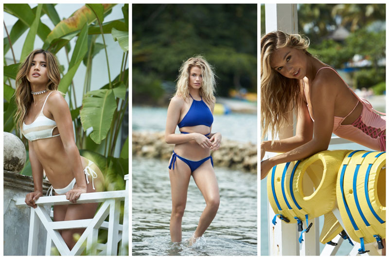 Girls of Summer: See REVOLVE's 5×5 Swimsuit Collection