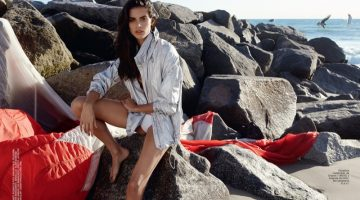 Sara Sampaio Heats Up Summer Style in Glamour Spain Cover Story