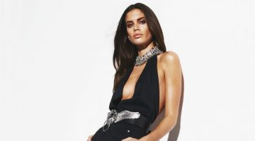 Sara Sampaio Poses in Sleek Styles for BAZAAR Turkey