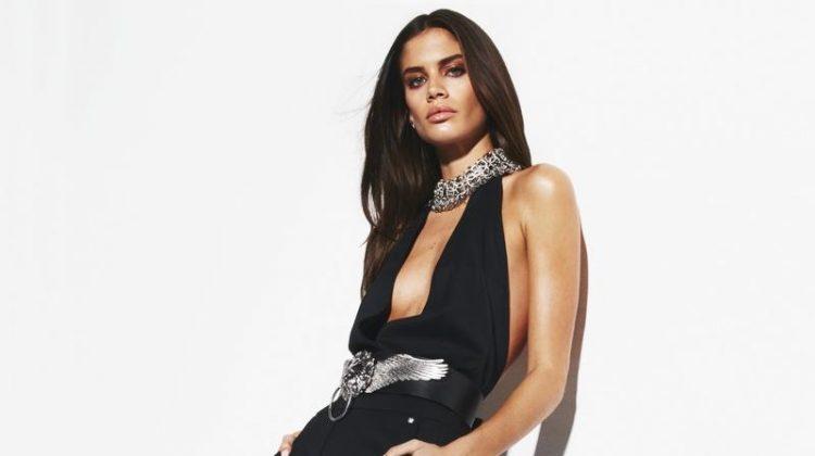 Sara Sampaio Poses in Sleek Styles for BAZAAR Turkey