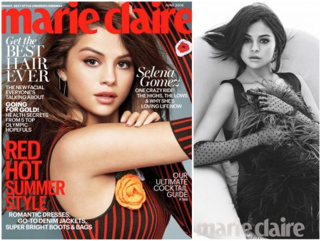 Selena Gomez Turns Up the Glam in Marie Claire