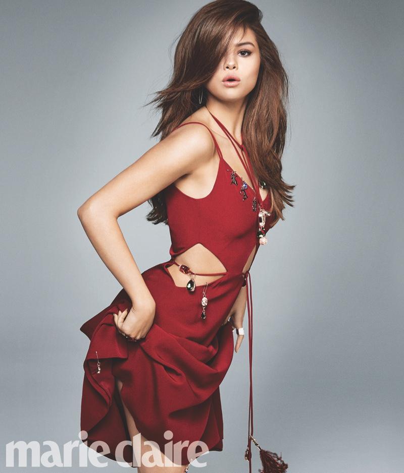 Selena Gomez Marie Claire June 2016 Photos