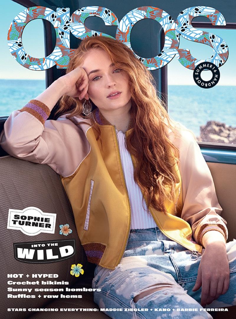 Sophie Turner on ASOS Magazine Summer 2016 Cover