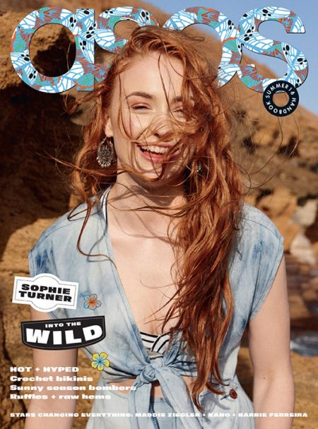 Sophie Turner Stars in ASOS Magazine, Talks 'X-Men: Apocalypse' Character