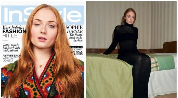 Sophie Turner Poses for InStyle UK, Talks Growing Up in the Public Spotlight