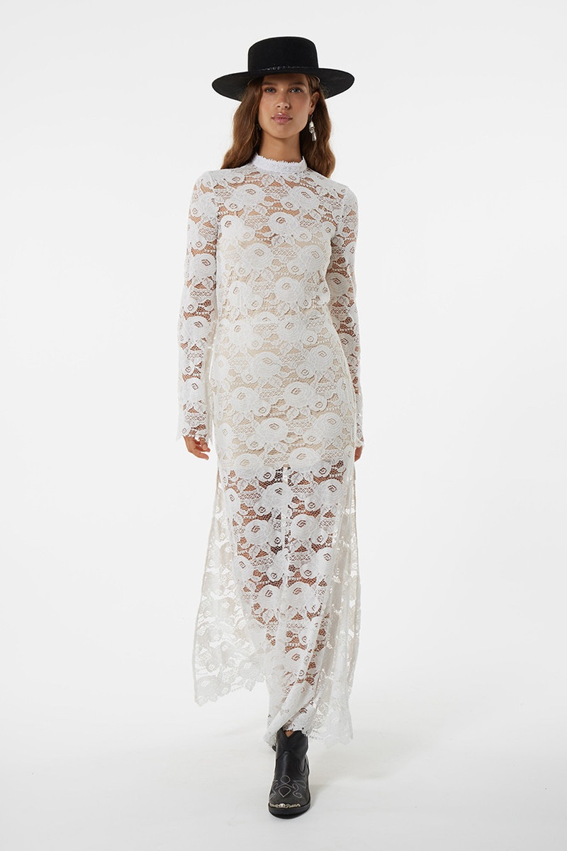 Spell Rosamond Lace maxi Dress
