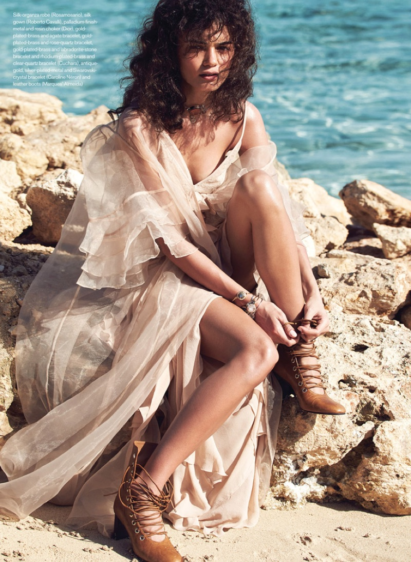 Swept Away: Max Abadian Captures Spring's Breezy Styles for ELLE Canada