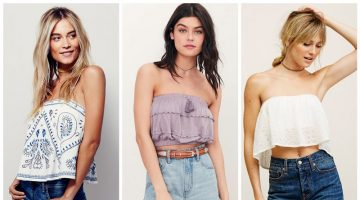 Go Strapless in One of These Boho Tube Tops
