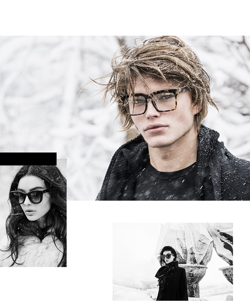 Jordan Barrett and Natalie Sole star in Valley Eyewear's The Happening campaign