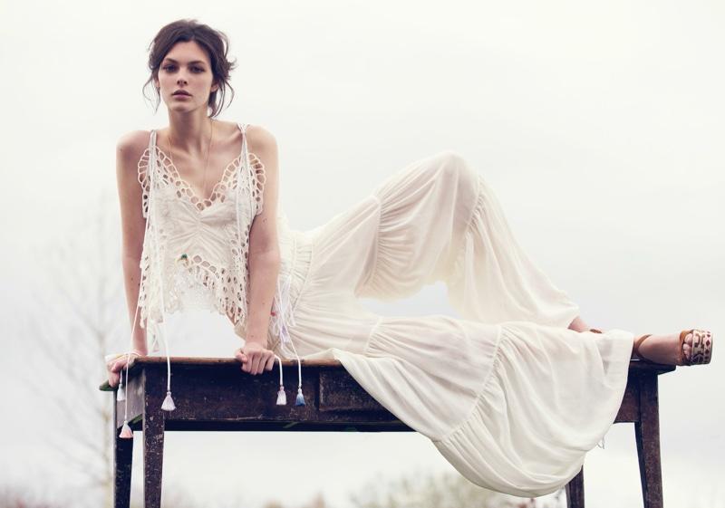 Vittoria Ceretti stars in Vogue China's June issue