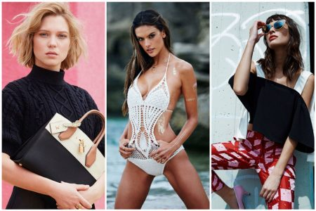 Week in Review | Alessandra Ambrosio Launches Flash Tattoos, Lea Seydoux for Louis Vuitton + More