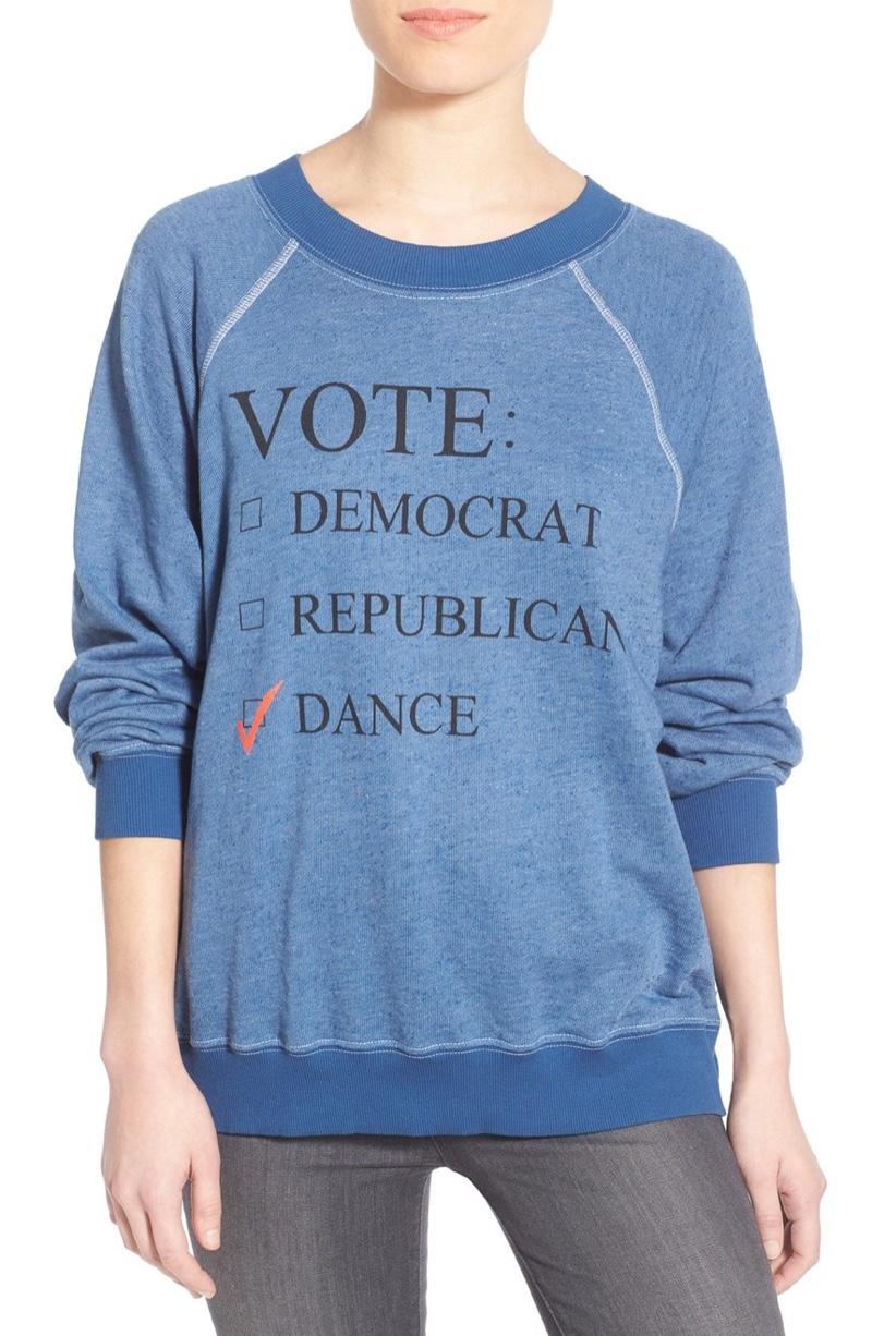 Wildfox Dance Party Pullover Sweater