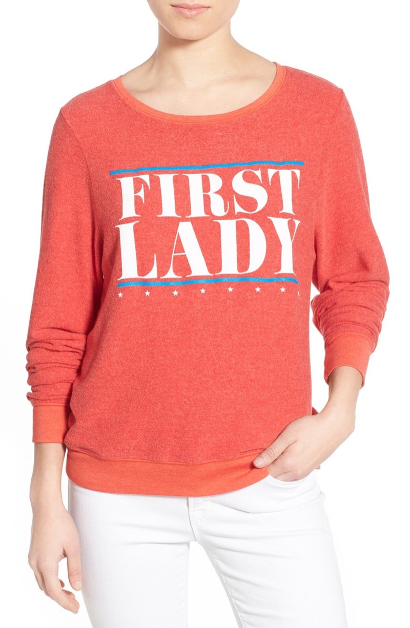 Wildfox First Lady Pullover Sweater