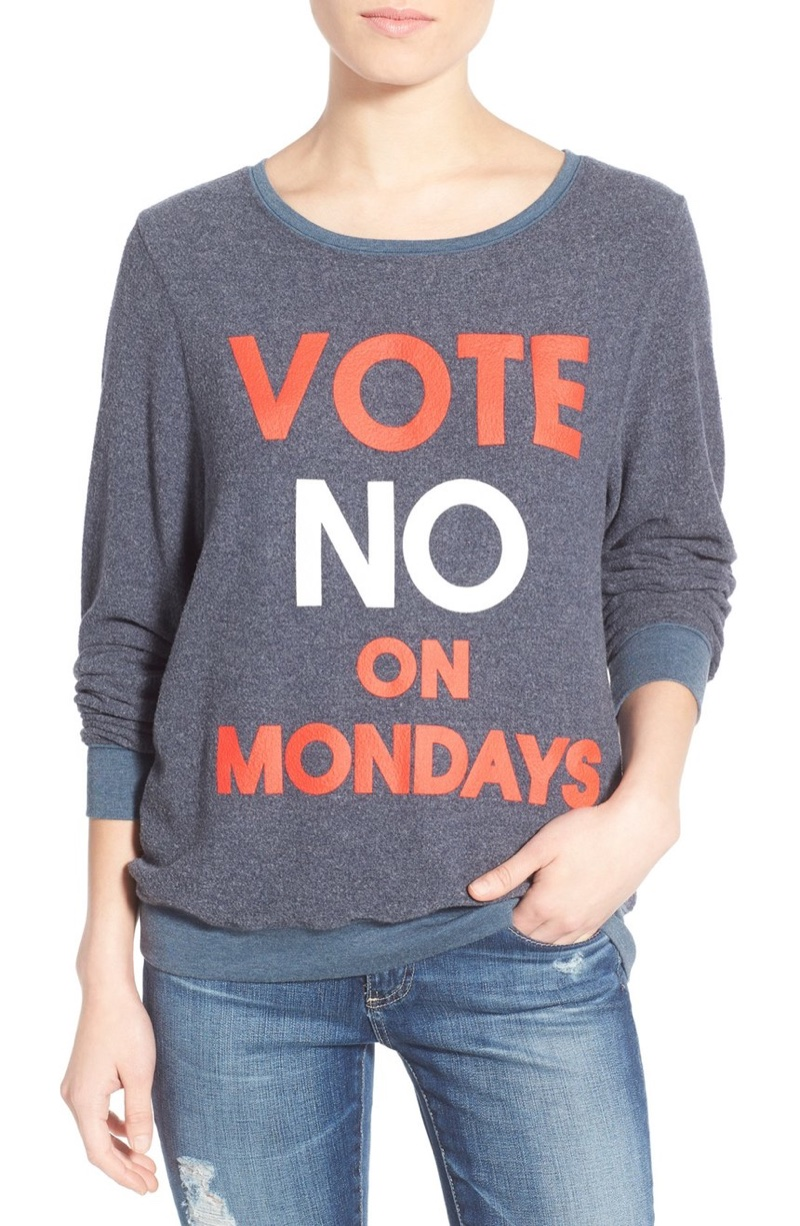 Vote 'Yes' on Wildfox's Election Season Sweaters