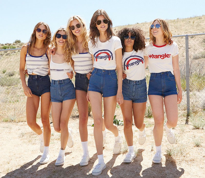 New arrivals: the Wrangler for Urban Outfitters collection just landed