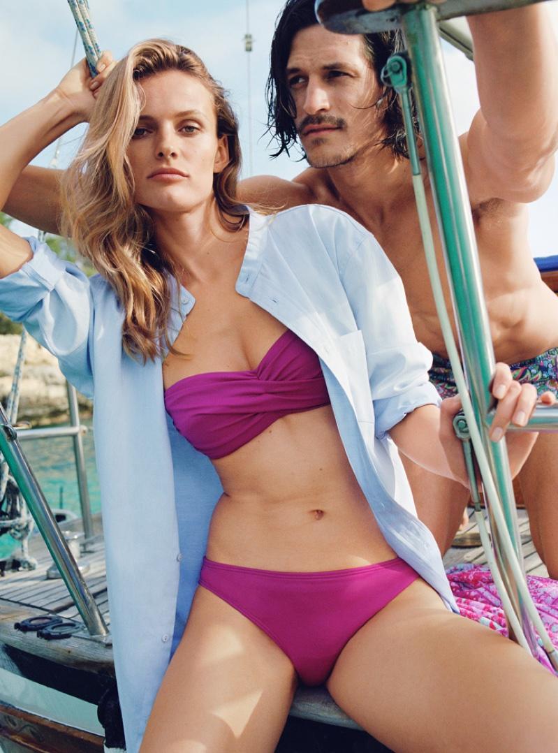Edita Vilkeviciute and Jarrod Scott star in Zara Home's spring-summer 2016