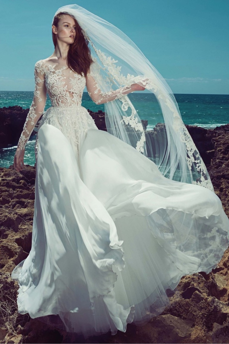 Zuhair Murad 2017 Aphrodite Wedding Dress 56
