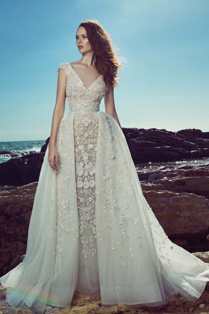 Zuhair murad 2017 spring bridal wedding dresses06 for Spring wedding dresses 2017