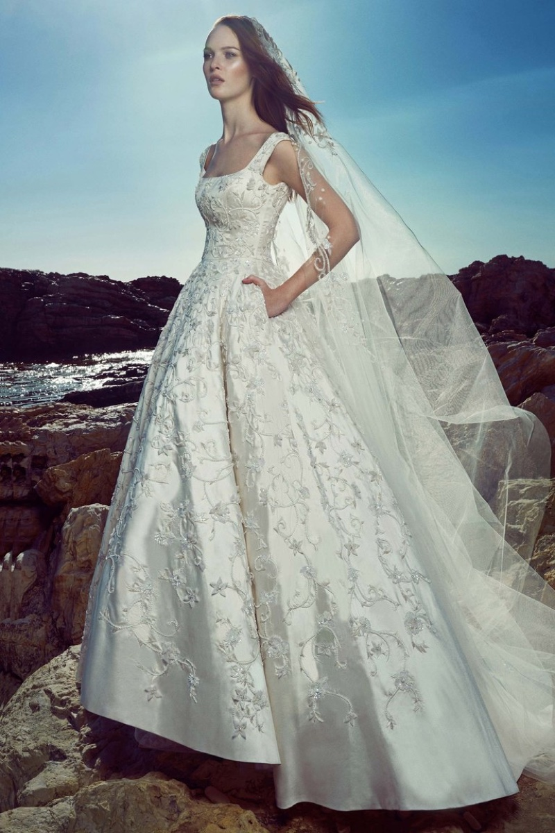 Zuhair Murad 2017 Aphrodite Wedding Dress 34