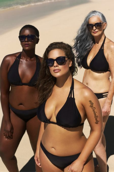 Ashley Graham Rocks Bikinis in #MySwimBody Campaign for swimsuitsforall