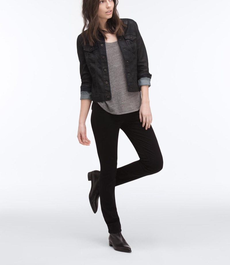 AG Jeans Robyn Jacket in Black