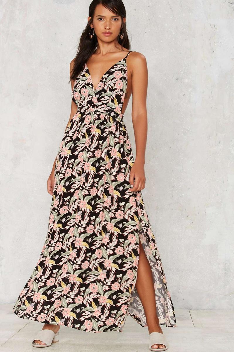 After Party Vintage Acropolis Maxi Dress