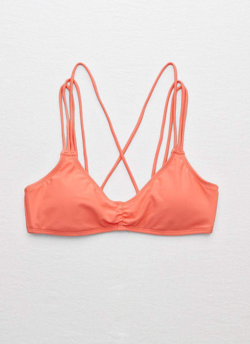 aerie Strappy Scoop Bikini Top