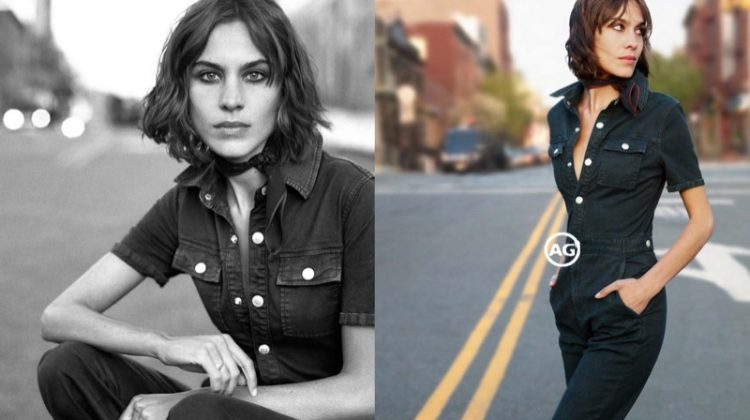 Alexa Chung is Pure Cool in AG Jeans Fall 2016 Ads
