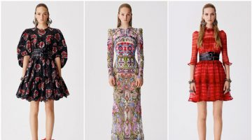 Alexander McQueen Embraces Romantic Florals for Resort 2017