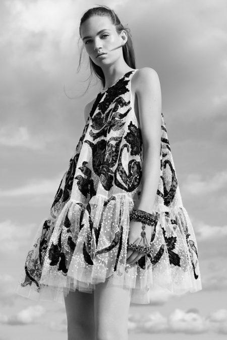 Alexander McQueen Embraces Romantic Florals for Resort 2017