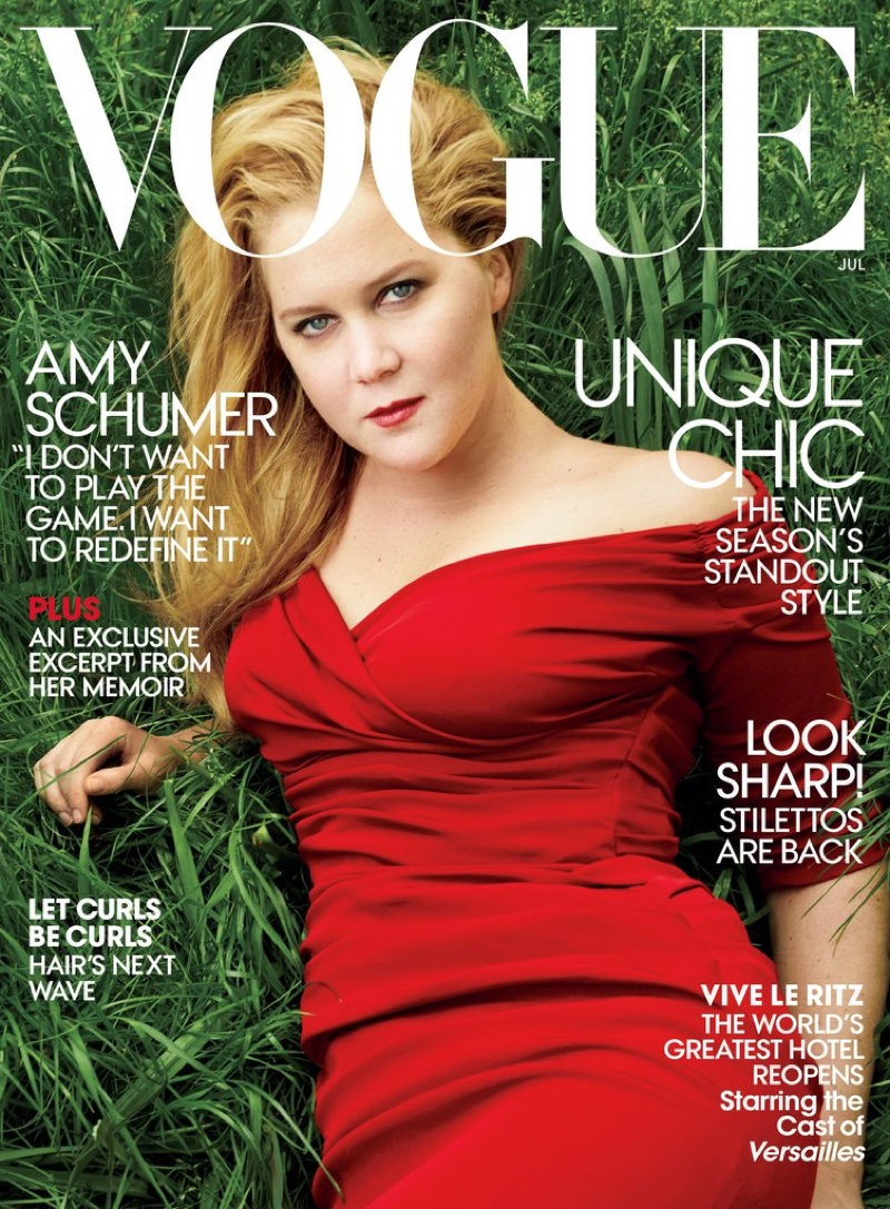 Amy Schumer on Vogue July 2016 Cover