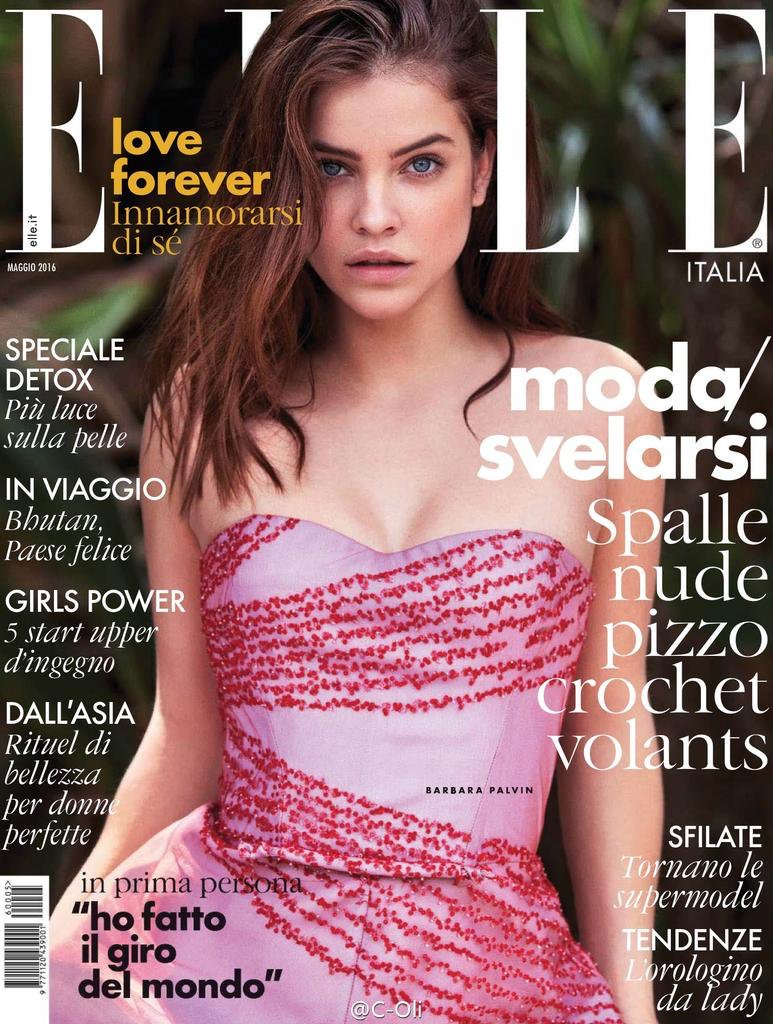 Barbara Palvin on ELLE Italy May 2016 Cover
