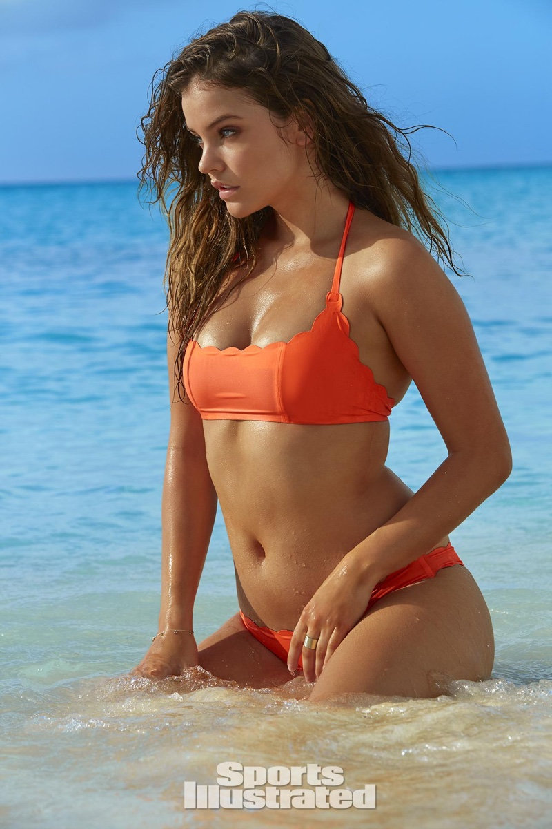 Barbara Palvin is announced as the 2016 Sports Illustrated Swimsuit Issue Rookie of the Year