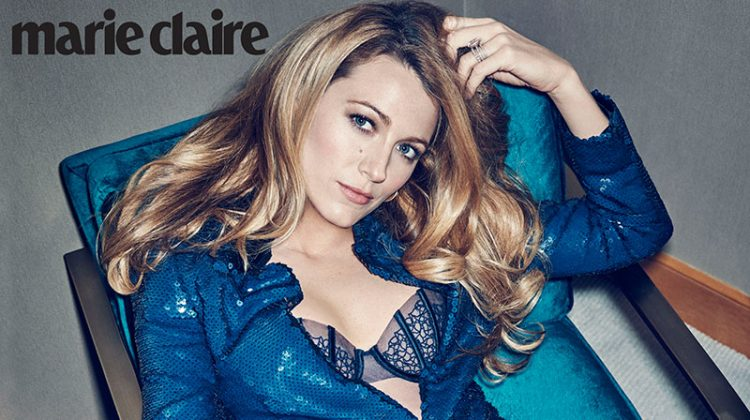 Blake Lively Shines in Marie Claire's July Issue