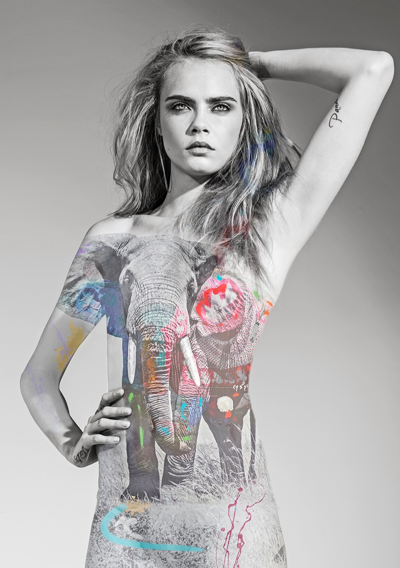 Cara Delevingne helps raise awareness for endangered species in I'm Not a Trophy campaign