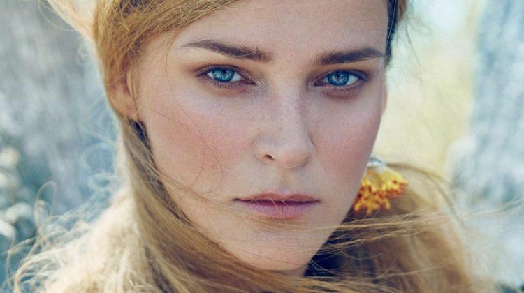 Carmen Kass is a Nature Girl in Vogue Ukraine Editorial