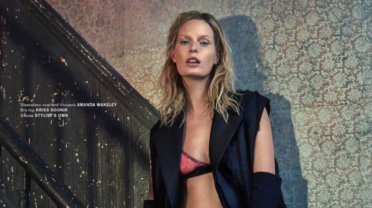 Caroline Winberg Wears Cutting Edge Looks for Archetype Magazine