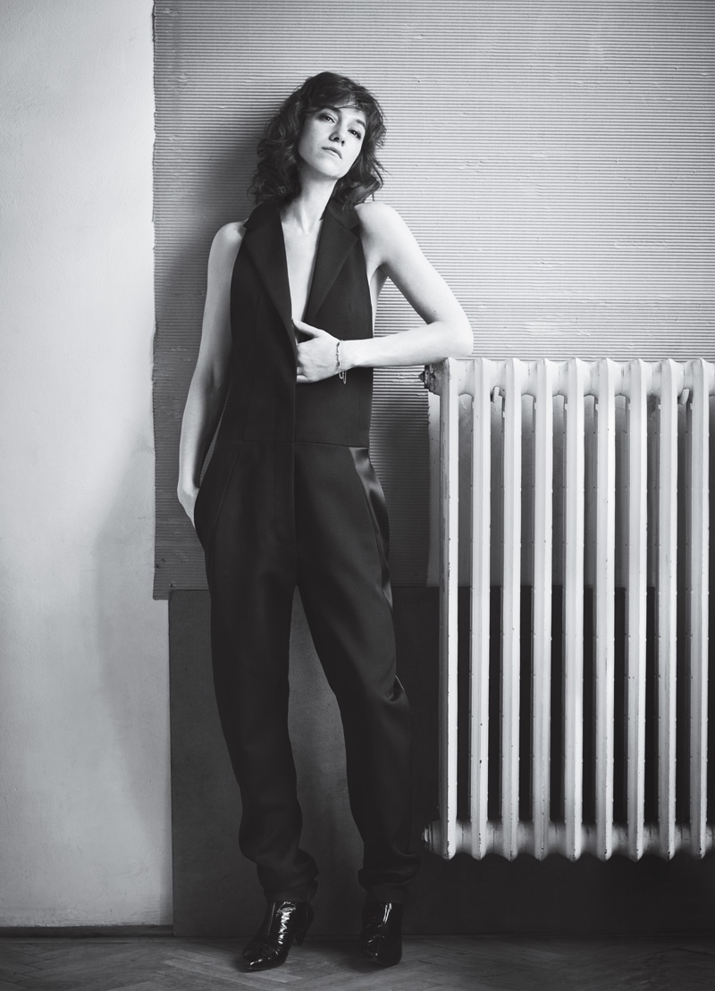 Charlotte Gainsbourg stars in InStyle Magazine's July issue