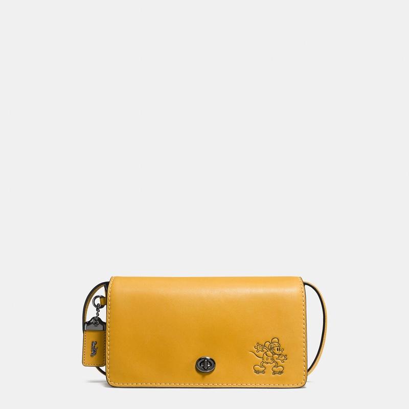 06edeb1ed589 Disney x Coach Mickey Charm Bracelet · Disney x Coach Mickey Dinky Crossbody  Bag