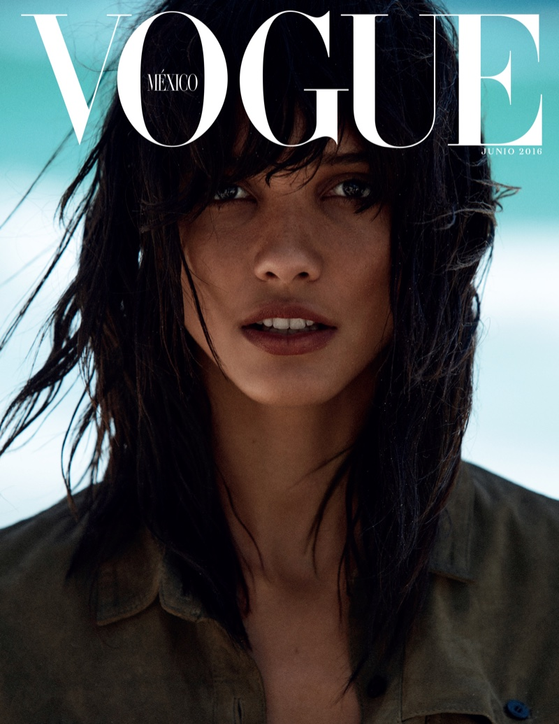 Cora Emmanuel on Vogue Mexico June 2016 Subscriber Cover