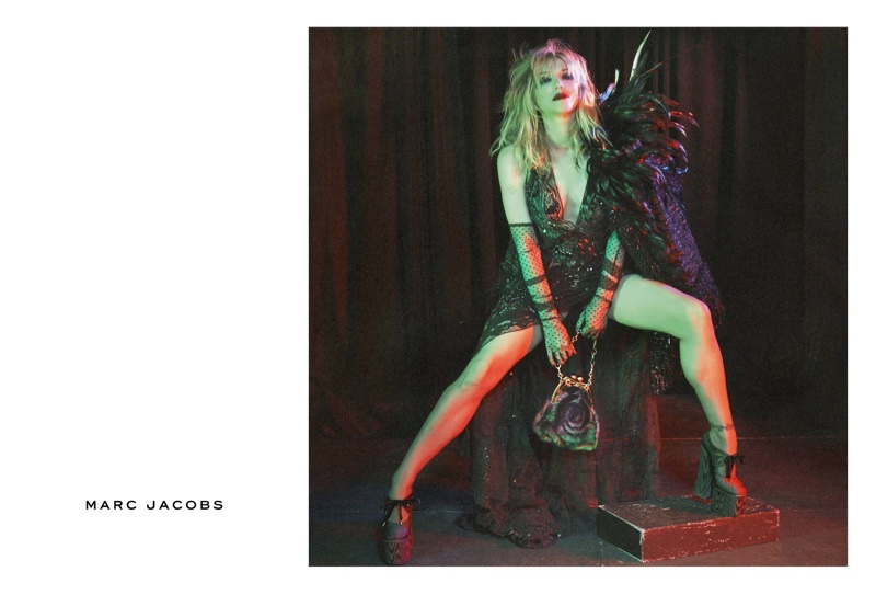 Courtney Love appears in Marc Jacobs' fall-winter 2016 campaign