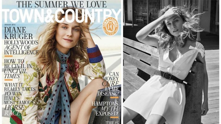 Diane Kruger Stars in Town & Country, Talks Modeling Days