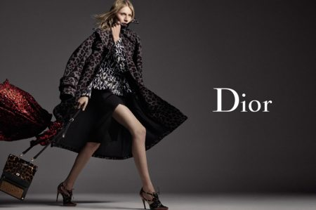 Julia Nobis Gets Moving for Dior's Fall 2016 Ads