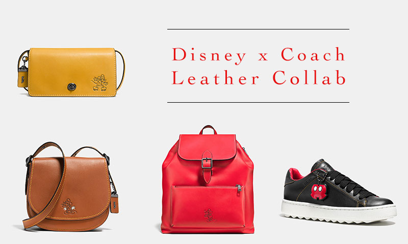 New Arrivals: The Disney x Coach Collection is Here