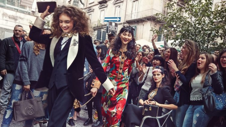 Dolce & Gabbana Sets the Scene in Naples for Fall 2016 Campaign