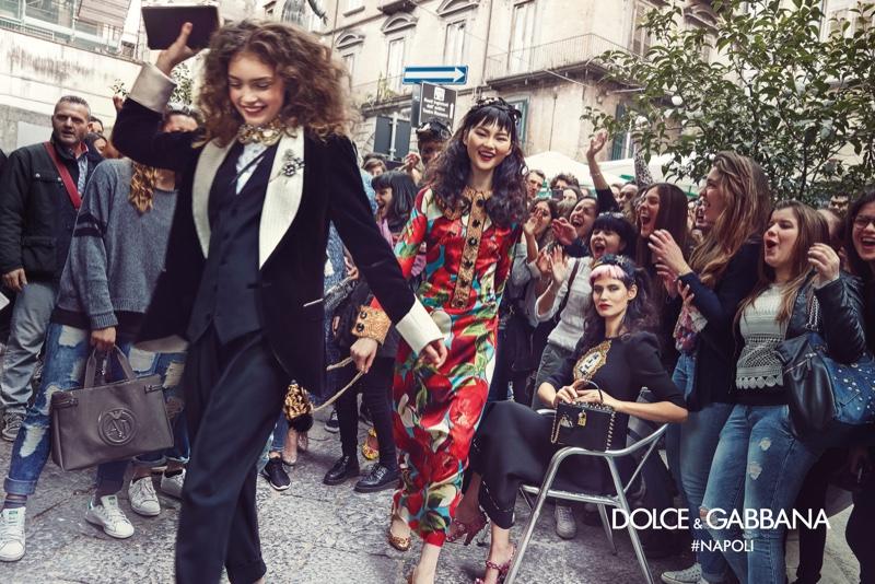 Dolce & Gabbana представляет осень-зима 2016 года кампанию