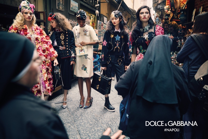 An image from Dolce & Gabbana's fall 2016 advertising campaign