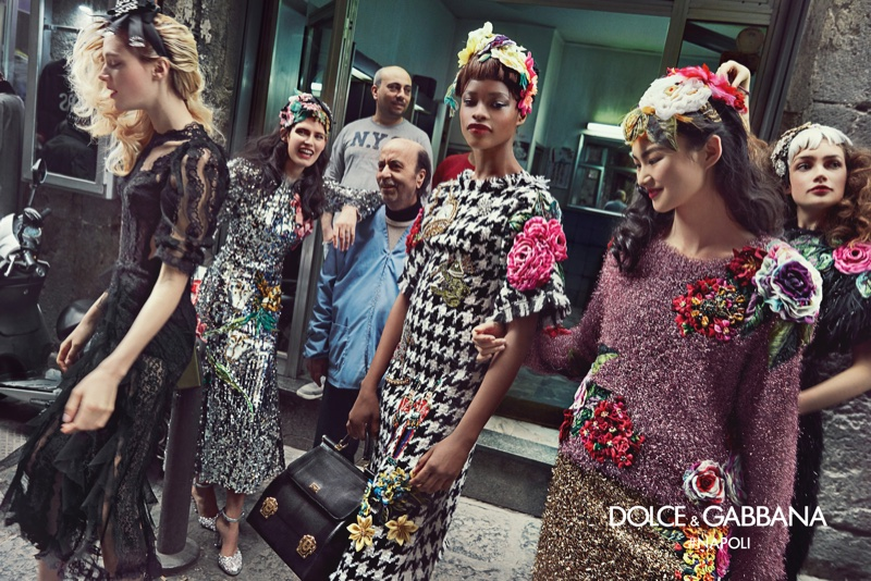Dolce & Gabbana fall-winter 2016 campaign