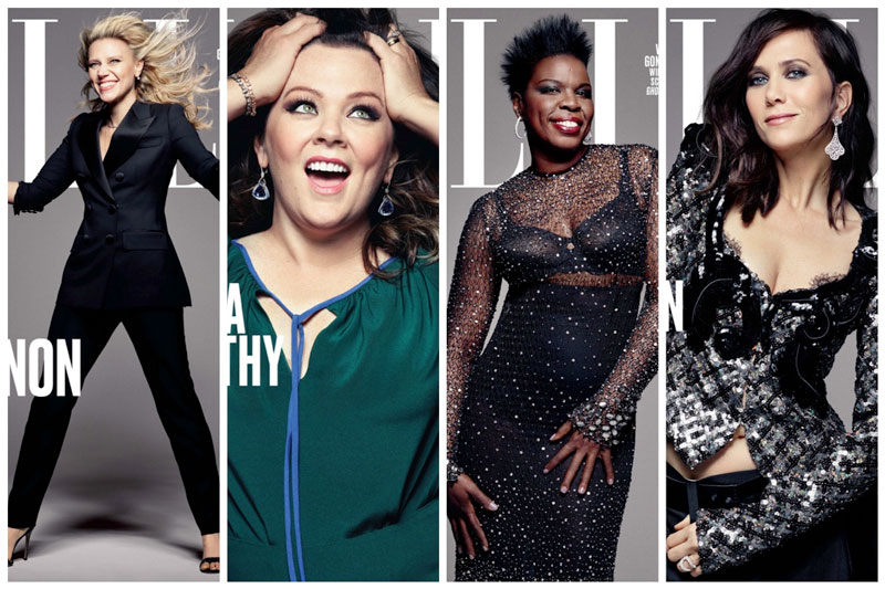 The 'Ghostbusters' Cast Lands ELLE's Women in Comedy Issue